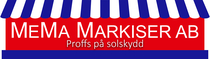 Markiser i Linköping & Norrköping – MeMa Markiser Logotyp